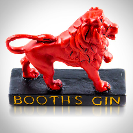 Booth's Gin // Original Antique Bar Display