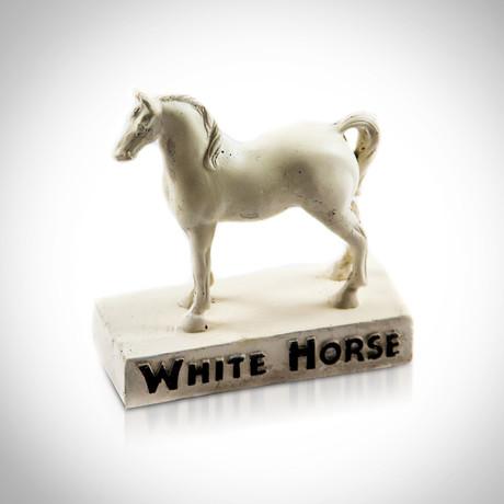 White Horse Scotch Whiskey // Original Antique Bar Display