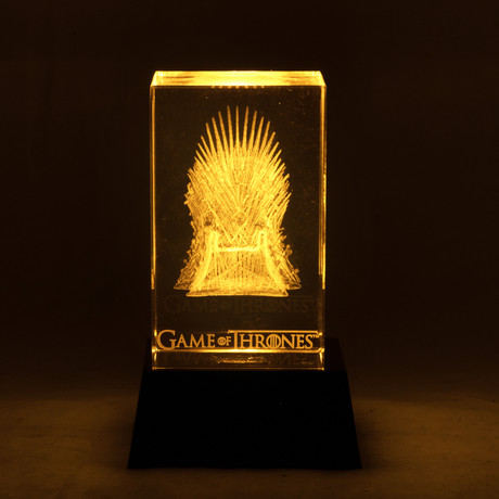 Game Of Thrones // Iron Throne Crystal Display