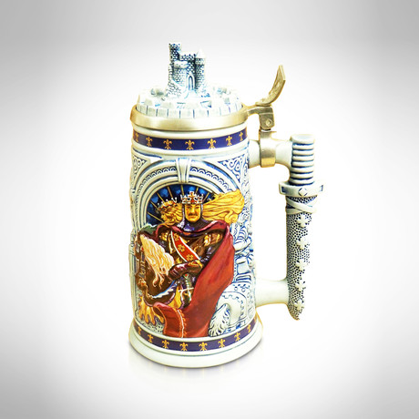 Knights Of The Realm // Vintage Collector Beer Stein