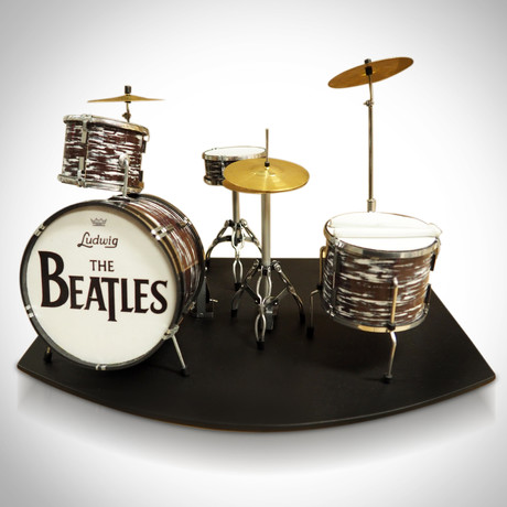 The Beatles // Mini Drum Set