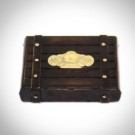 Debonaire Toro // Wooden Premium Vintage Cigar Box