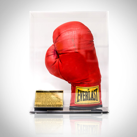 Muhammad Ali // Hand-Signed Boxing Glove Display