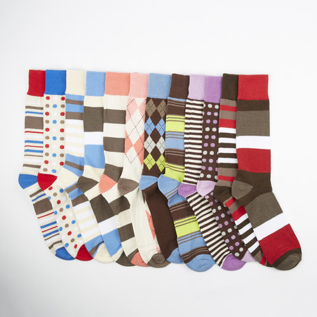 Friday Socks // Assorted // 12-Pack