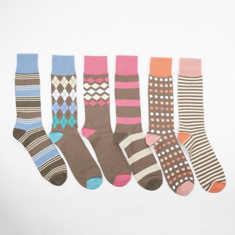 Thursday Socks // Assorted // 6 Pack