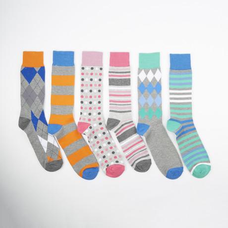 Wednesday Socks // Assorted // 6-Pack