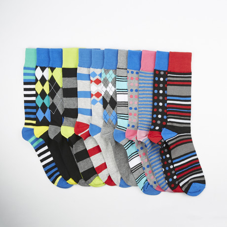 Saturday Socks // Assorted // 12-Pack