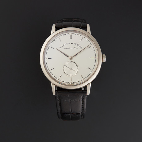 A. Lange & Sohne Saxonia Manual // 216.026 // Pre-Owned