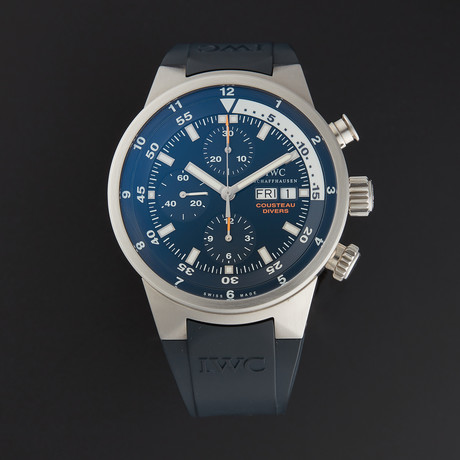 IWC Aquatimer Cousteau Divers Chrono Automatic // IW378201 // Pre-Owned