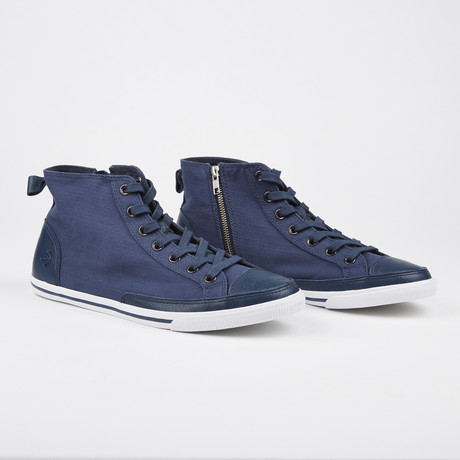 Vintage High Top Sneaker // Blue (Euro: 41)