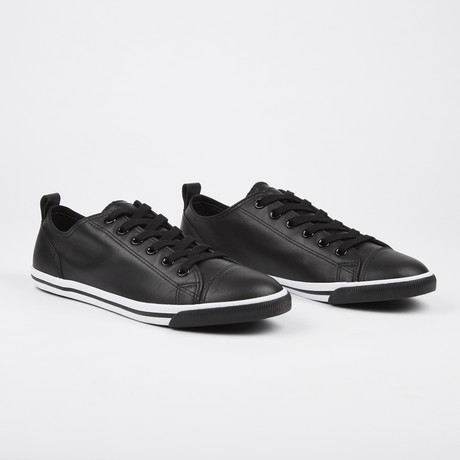 Leather Ox Vintage Sneaker // Black (Euro: 41)