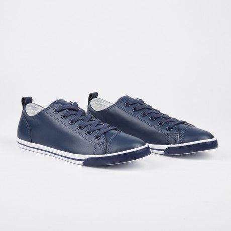 Leather Ox Vintage Sneaker // Navy (Euro: 41)