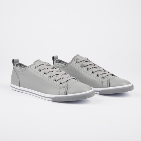 Leather Ox Vintage Sneaker // Grey (Euro: 41)