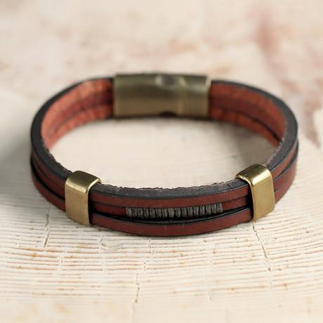 Cooke Bracelet // Sienna + Brass