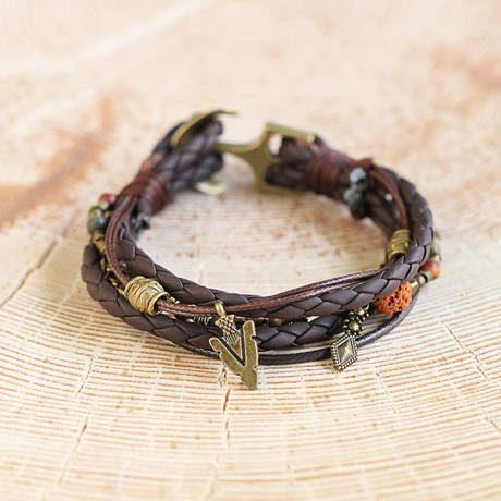 Kennedy Bracelet // Brown