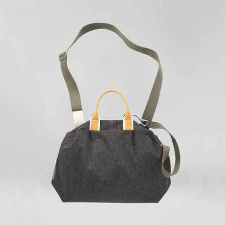 Seine Bowler Bag // Leather + Grid
