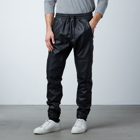Synthetic Joggers // Black (S)