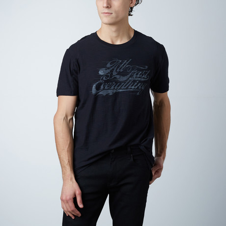 All Fast Everything Tee // Navy (S)