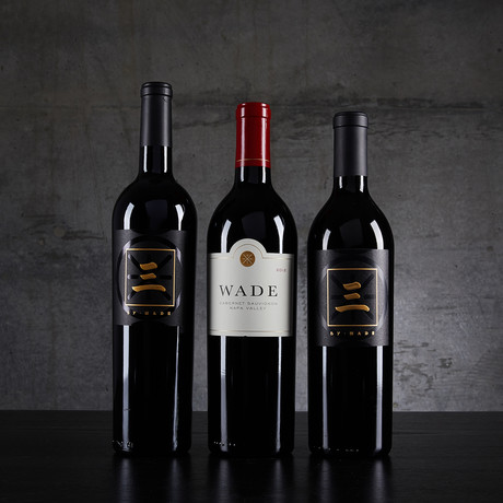 Wade Cellars Mixed Reds by Dwyane Wade and Jayson Pahlmeyer // 3 Bottles