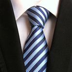 Silk Tie // Blue Striped