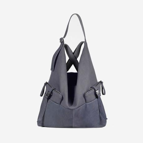 Ganges Medium Alias // Cowhide Leather + Denim // Graphite Grey