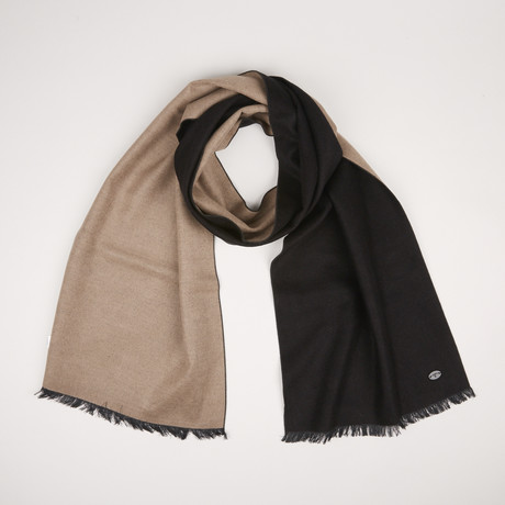 Lotus Double Scarf // Black 931