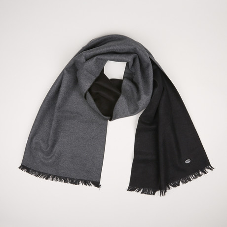 Lotus Double Scarf // Black Anthracite 258