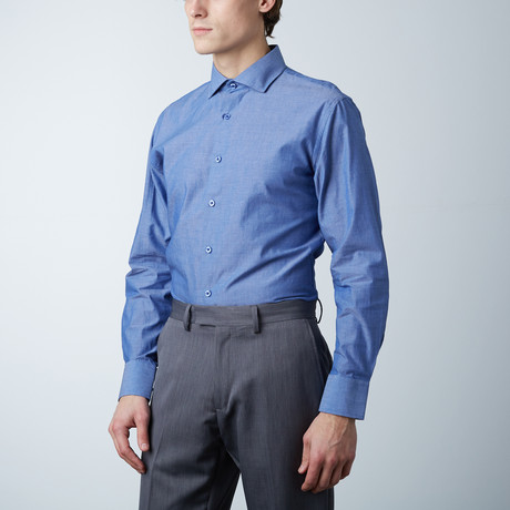 Classic Dress Shirt // Denim Blue (US: 14R)