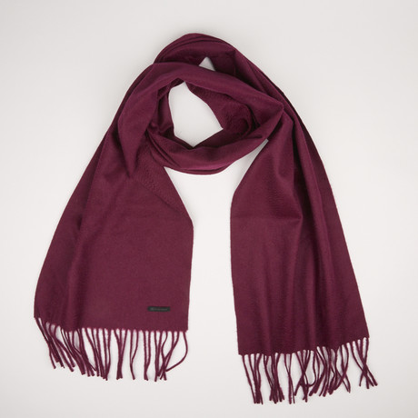 Patrick Single Scarf // Marsala Red 776