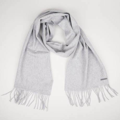 Patrick Single Scarf // Light Gray + Melange 187