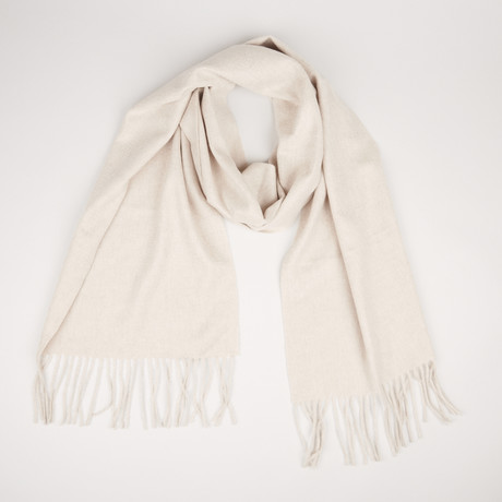 Patrick Single Scarf // Sand Beige 075