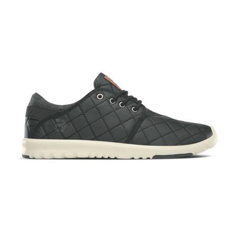 Scout Sneaker // Black + Black + Silver (US: 7)