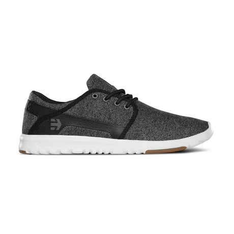 Scout Sneaker // Black + White (US: 7)