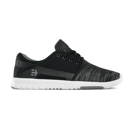 Scout YB Sneaker // Black + Grey (US: 7)