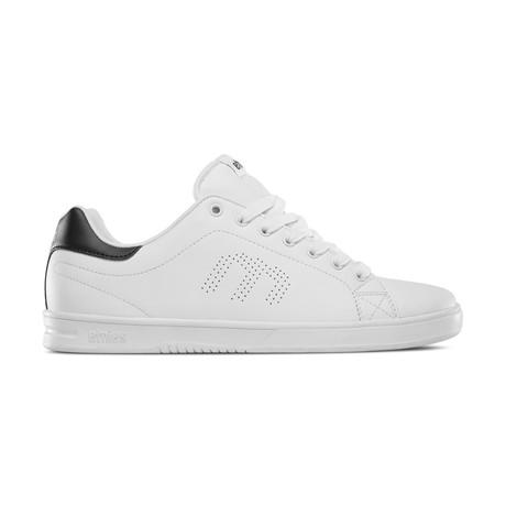 Callicut LS Sneaker // White + Navy (US: 7)
