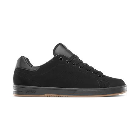 Callicut LS Sneaker // Black + Black + Gum (US: 7)