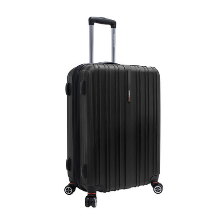 "Tasmania Expandable Spinner Luggage // 25"" (Black)"