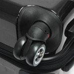 Sedona Expandable Spinner Luggage // Set of 3 (Pewter)