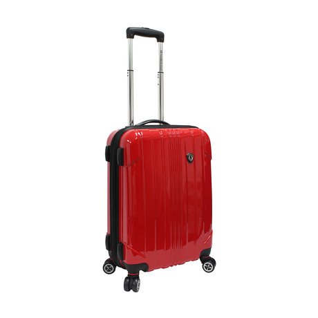 "Sedona Expandable Spinner Luggage // Red (21"")"