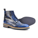 Colombo Ankle Wing Brogue // Blue (Euro: 41)