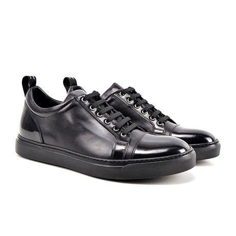 Pietro Low Top Sneaker // Black (Euro: 41)