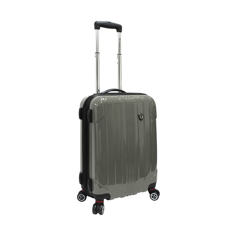 "Sedona Expandable Spinner Luggage // Pewter (21"")"