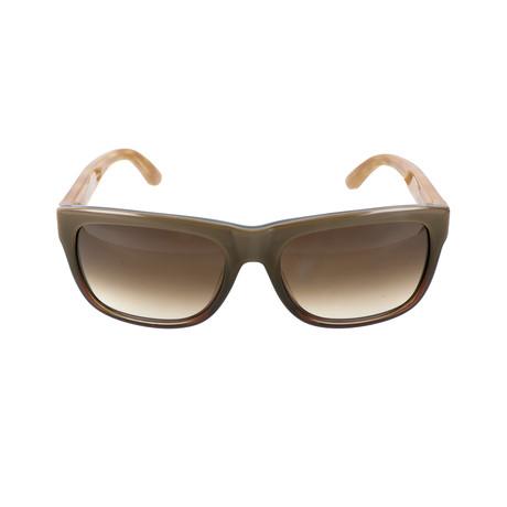 Men's SF686S Sunglasses // Khaki Gradient