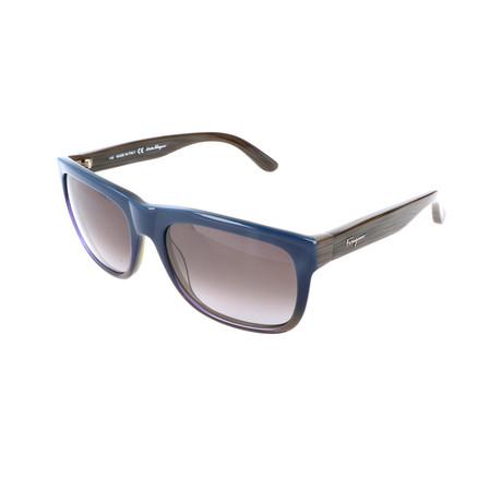 Men's SF686S Sunglasses // Blue Gradient