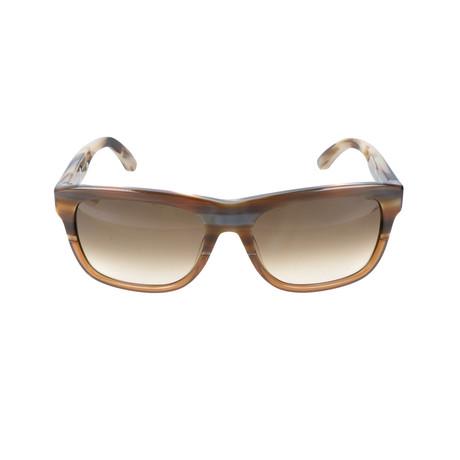 Men's SF686S Sunglasses // Brown + Cognac Horn