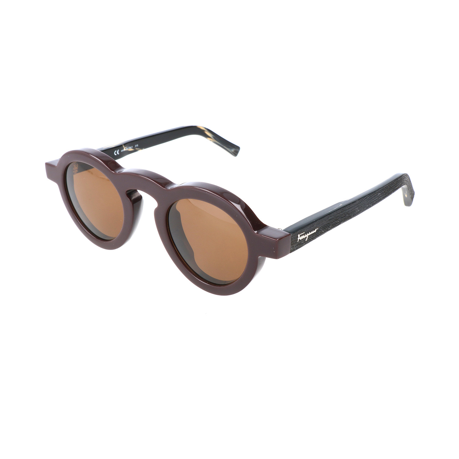 salvatore ferragamo evans sunglass burgundy salvatore ferragamo touch of modern. Black Bedroom Furniture Sets. Home Design Ideas