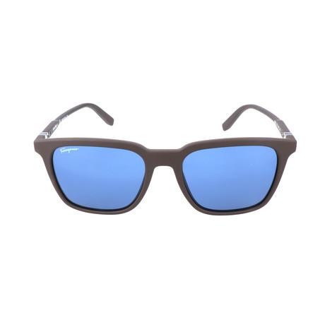 Men's SF843S Sunglasses // Matte Brown