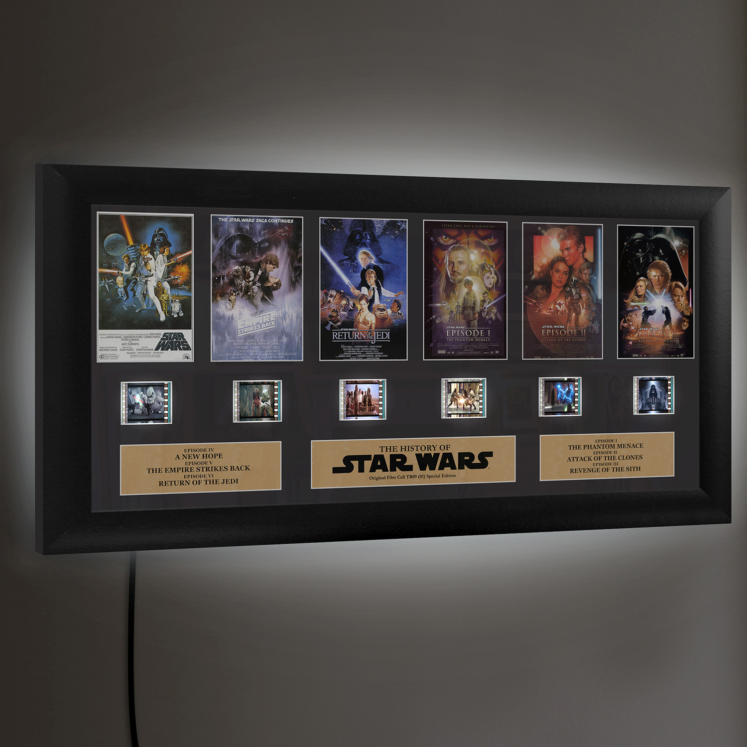 Star Wars Through The Ages Film Cells Ltd Touch Of