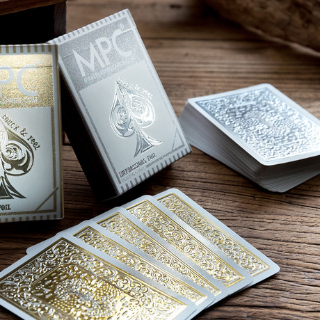Impressions Playing Cards // Silver Foil + Gold Foil