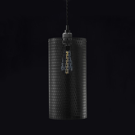 Drum Pekota Pendant (Matte Black)